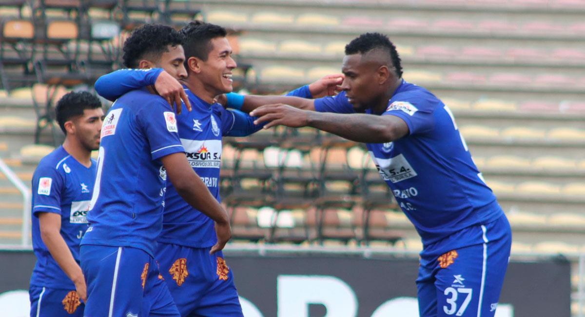 Llacuabamba venció a Santos por Liga 2. Foto: FPF