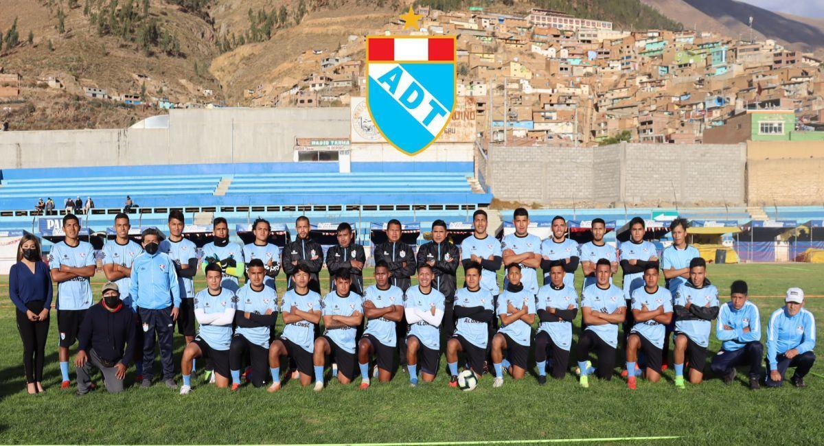ADT ha quedado listo para jugar la Copa Perú. Foto: Facebook ADT de Tarma Oficial