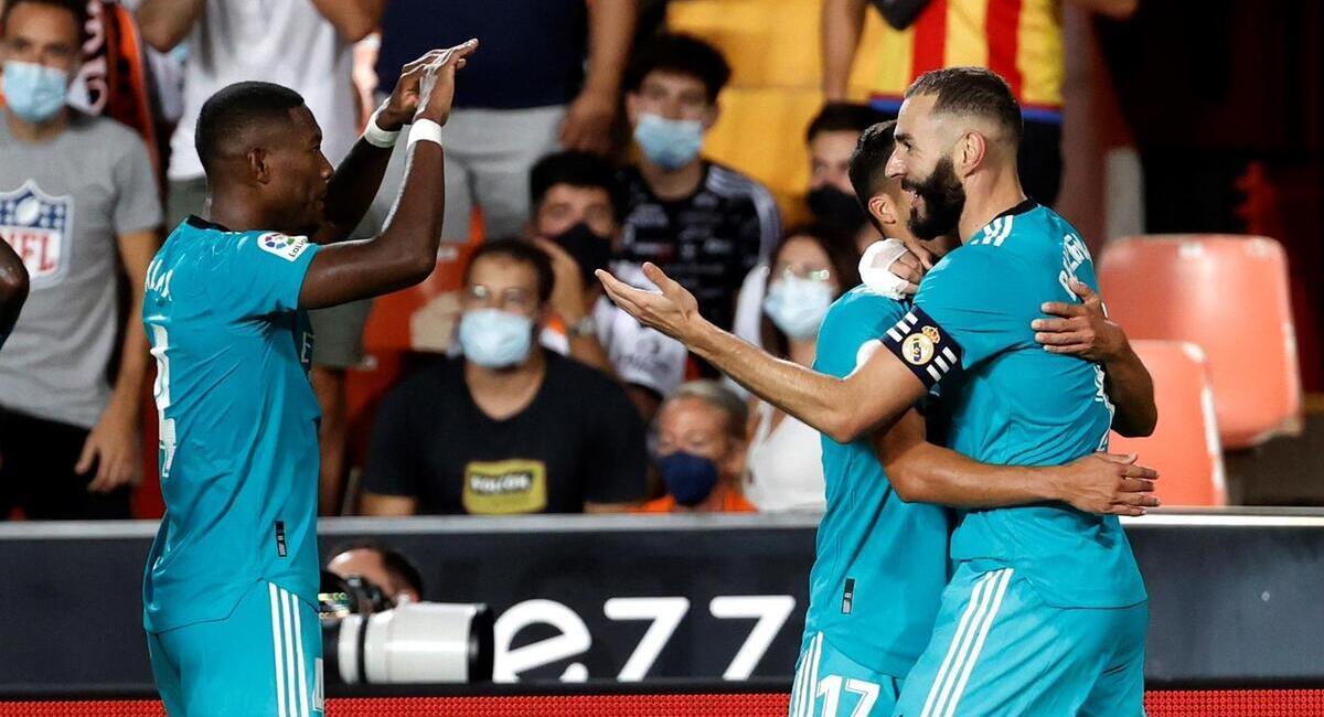 Real Madrid ganó en Mestalla. Foto: EFE