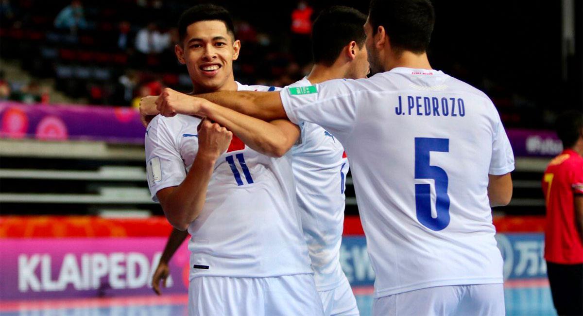 Paraguay venció a Japón y clasificó a octavos de final del Mundial de Futsal. Foto: Twitter FutsalAPF