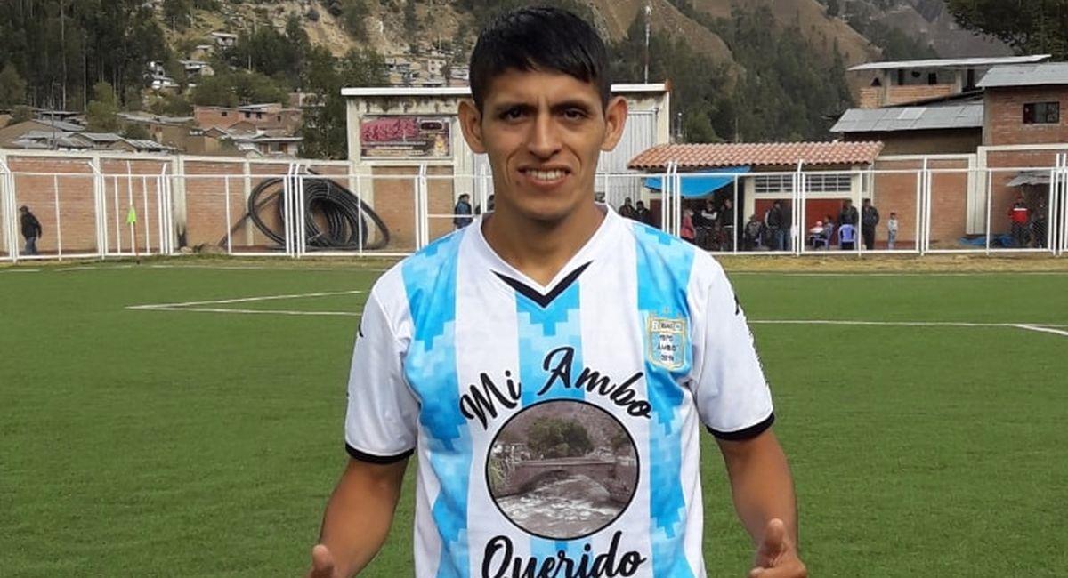 Diego Janampa, nuevo jugador del Verdecocha. Foto: Facebook