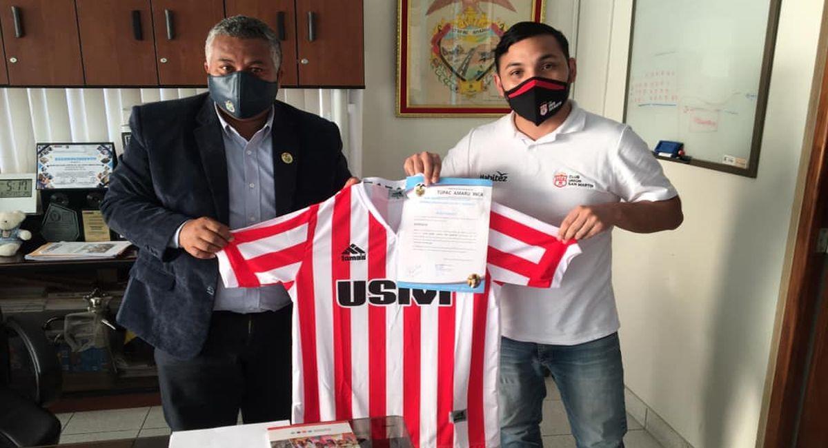 Unión San Martín de Pisco. Foto: Facebook Club Unión San Martín