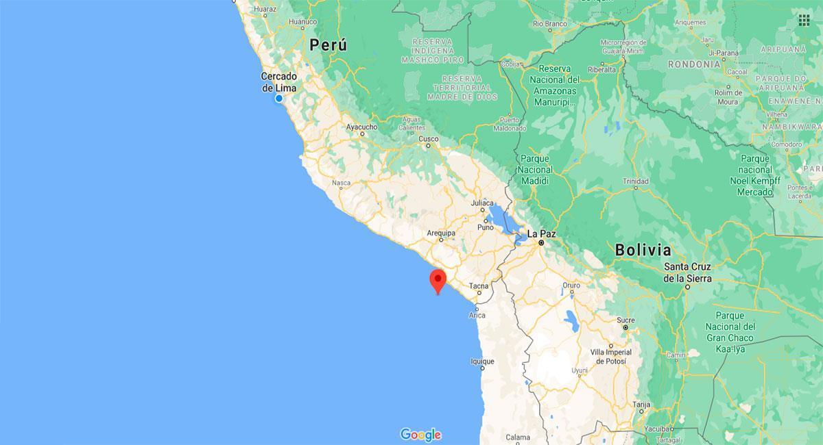 Ilo sintió un fuerte temblor este lunes 20 de setiembre. Foto: Google Maps