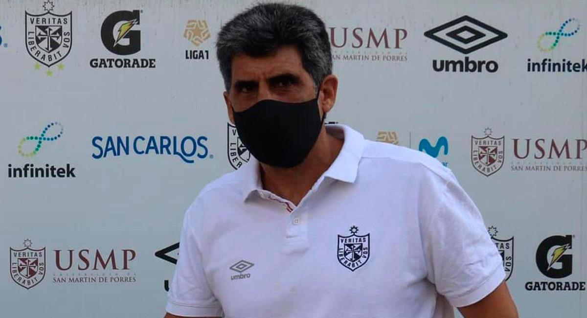 Álvaro Barco fue sancionado por la Comisión Disciplinaria. Foto: FPF