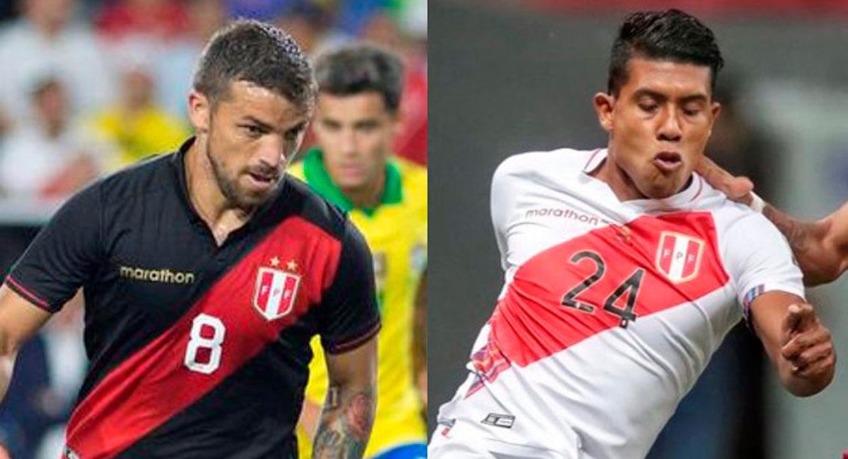Gabriel Costa y Raziel García. Foto: Interlatin Composición FútbolPeruano