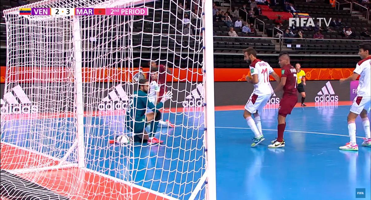 Venezuela quedó fuera del Mundial de Futsal. Foto: Youtube FIFA TV