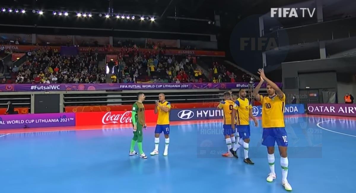 Brasil derrotó a Japón. Foto: Captura YouTube