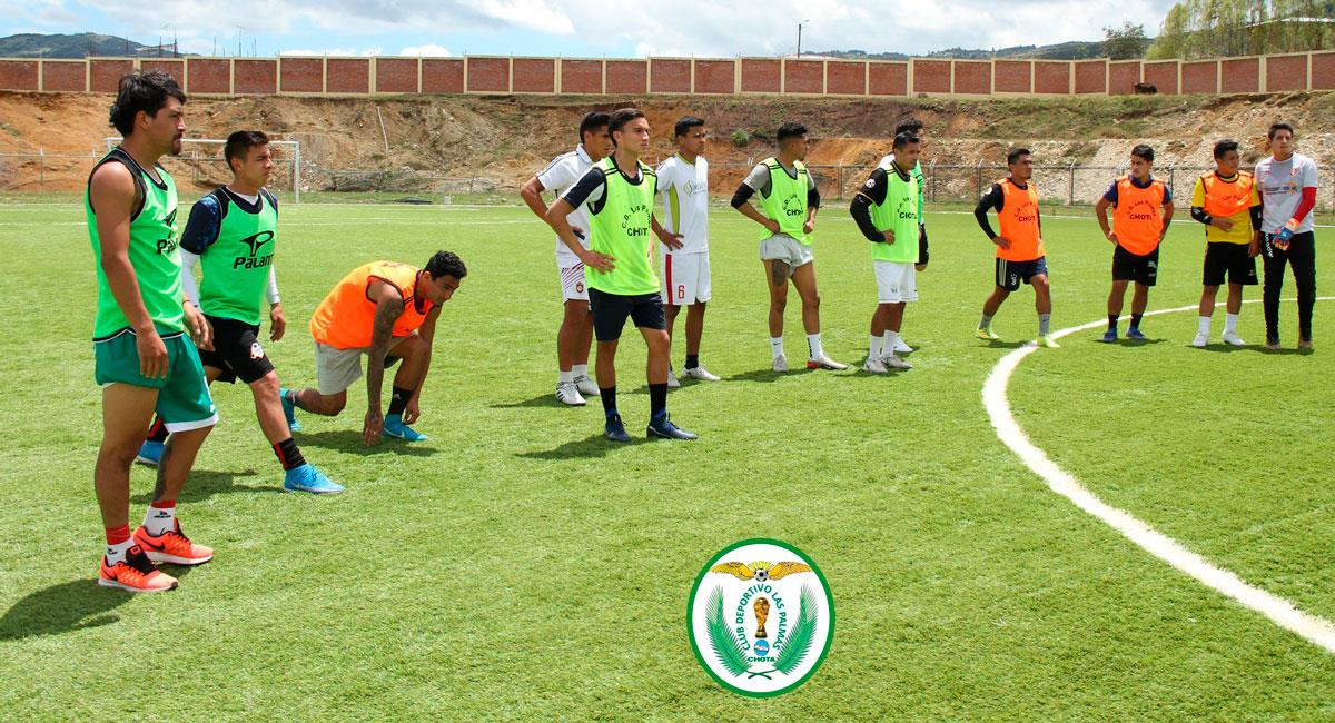 Las Palmas de Chota se preparan para la Copa Perú 2021. Foto: Facebook Club Deportivo Las Palmas Chota