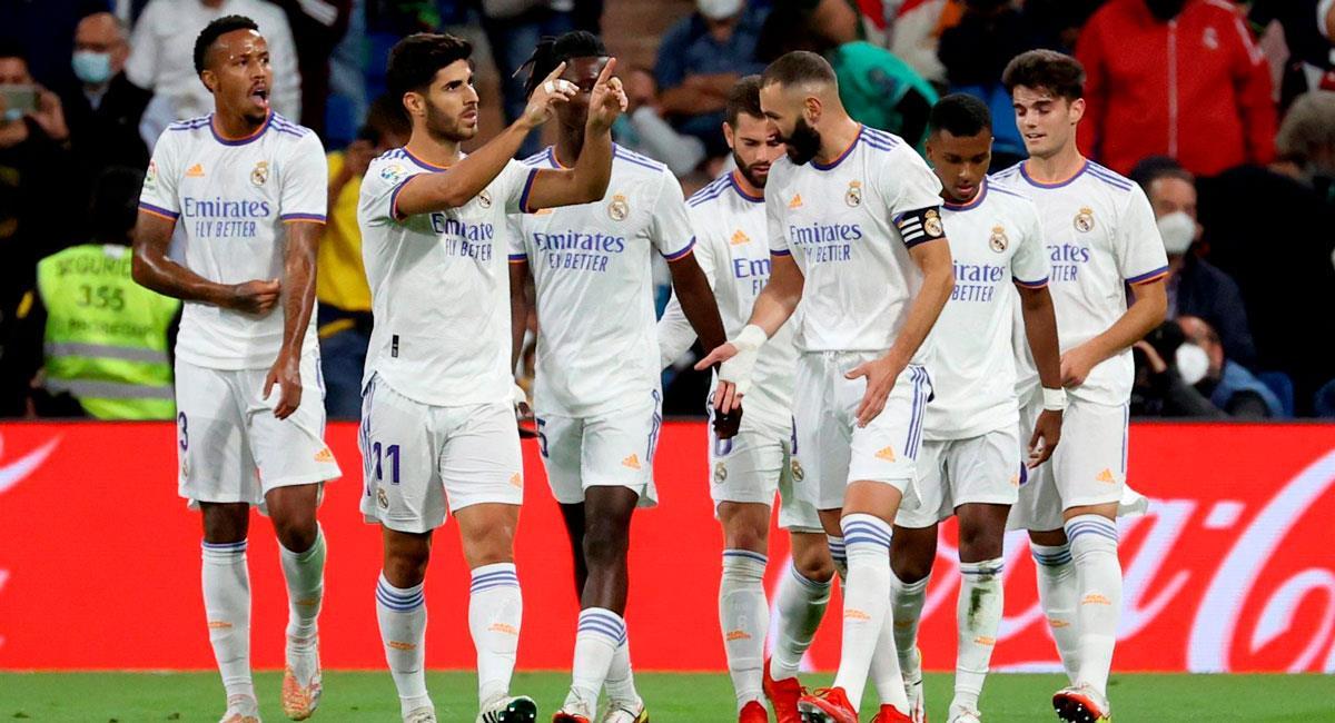 Real Madrid goleó 6-1 a Mallorca. Foto: EFE