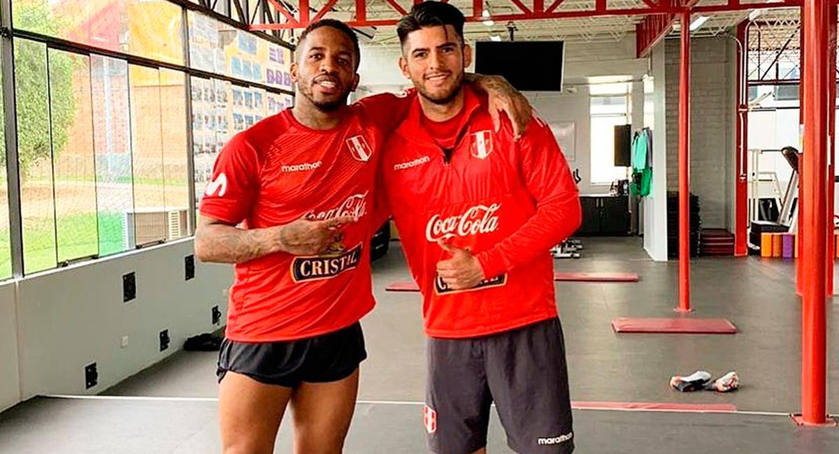 Jefferson Farfán y Carlos Zambrano son dos jugadores que vuelven para las Eliminatorias. Foto: Twitter