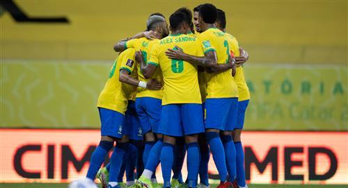 Brasil anunció lista con jugadores de la Premier