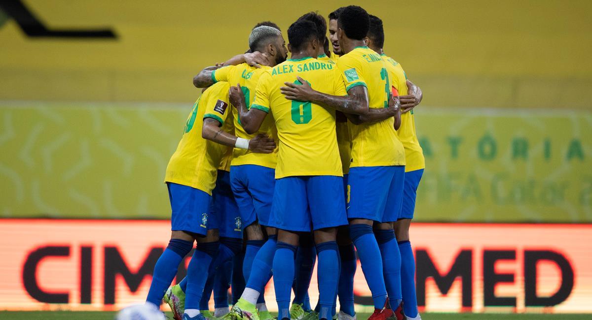 Brasil anunció lista de convocados para fecha triple de octubre. Foto: Twitter @CBF_Futebol