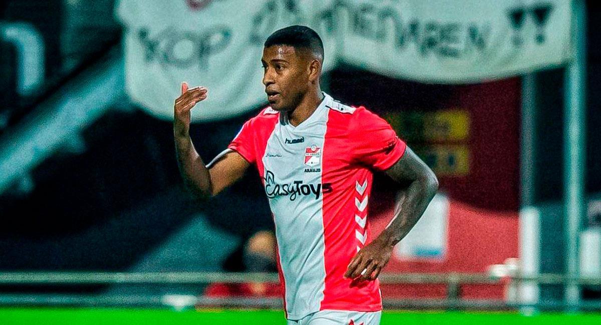 Miguel Araujo titular en la victoria ante Den Bosch. Foto: Twitter FC Emmen