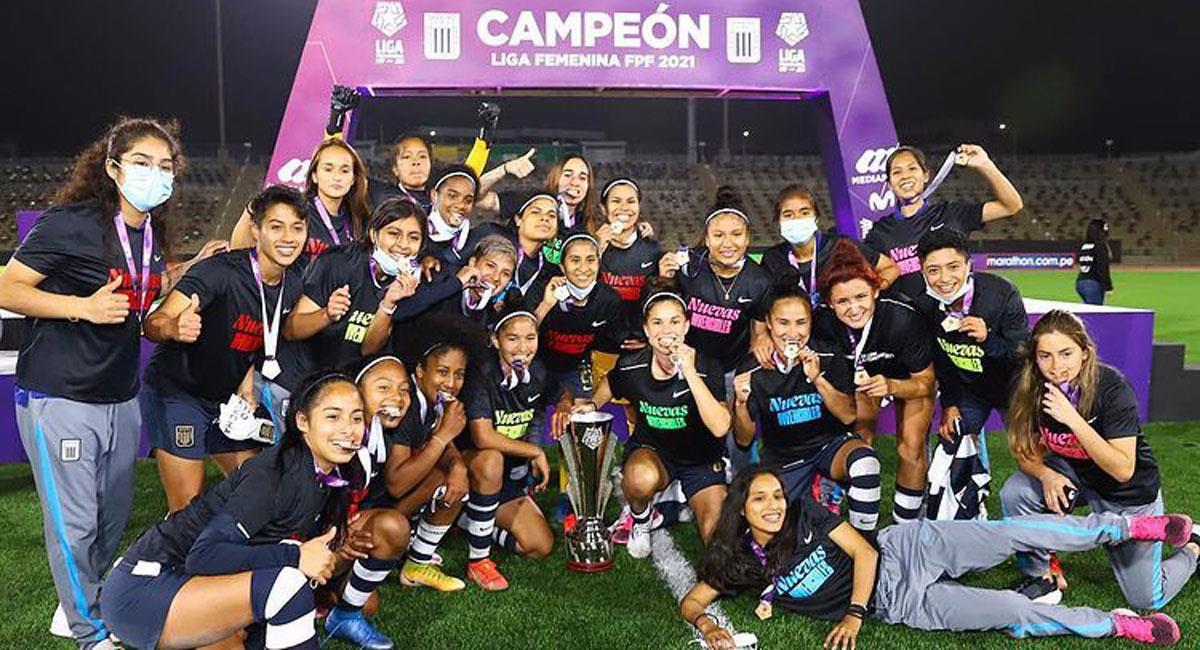 Alianza representará a Perú en la Libertadores Femenina 2021. Foto: Twitter Captura