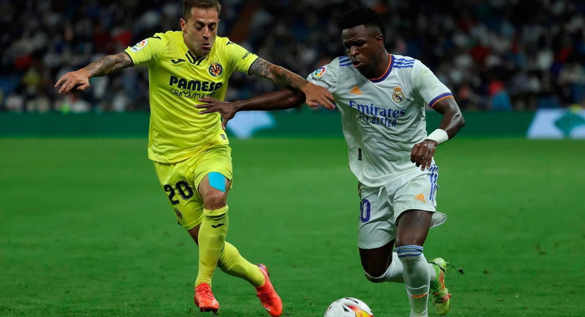 Real Madrid igualó sin goles con Villarreal. Foto: EFE