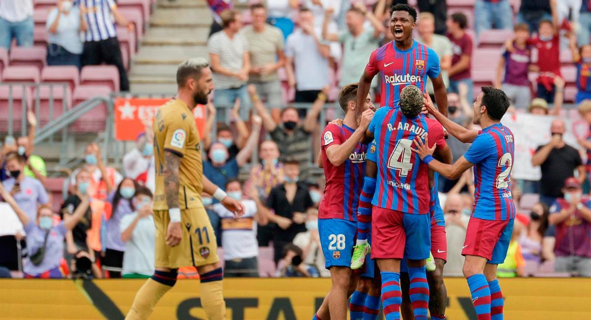 Barcelona no tuvo problemas para ganar en casa. Foto: EFE