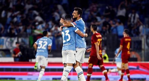 Lazio se quedó con el derbi