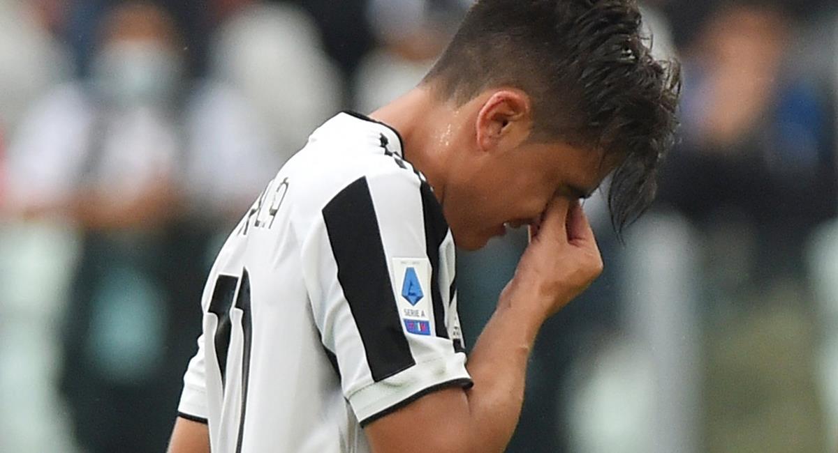 Paulo Dybala sería baja en Argentina para duelo con Perú. Foto: Twitter