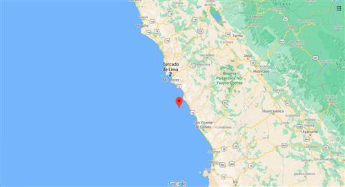 Temblor de 3.9 en Chilca