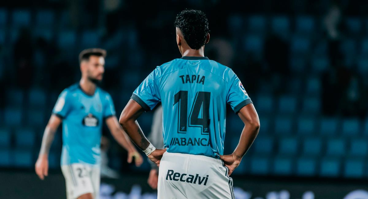 Renato Tapia tendrá acción con Celta de Vigo. Foto: Twitter @RCCelta
