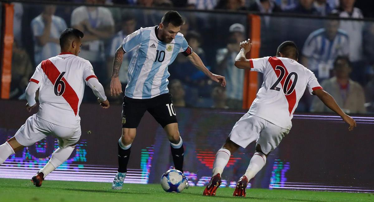 Perú se medirá a Argentina el jueves 14 de octubre. Foto: Twitter