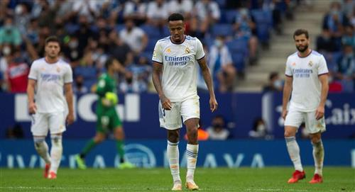 Real Madrid cayó en España
