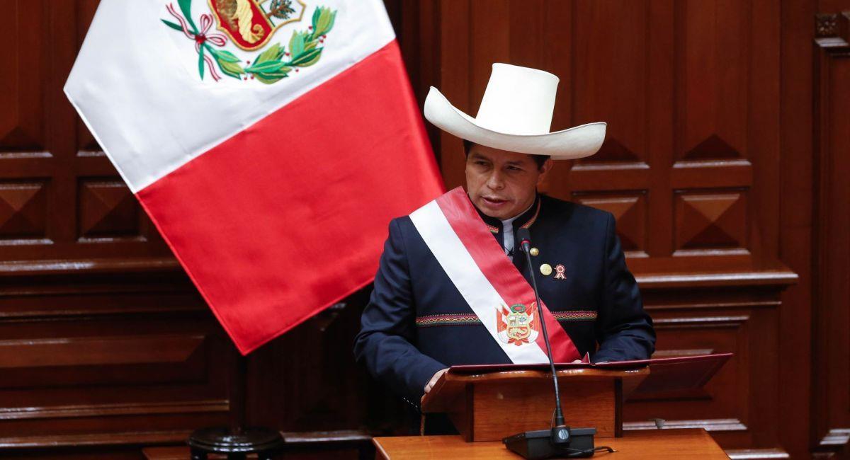 Pedro Castillo. Foto: Andina