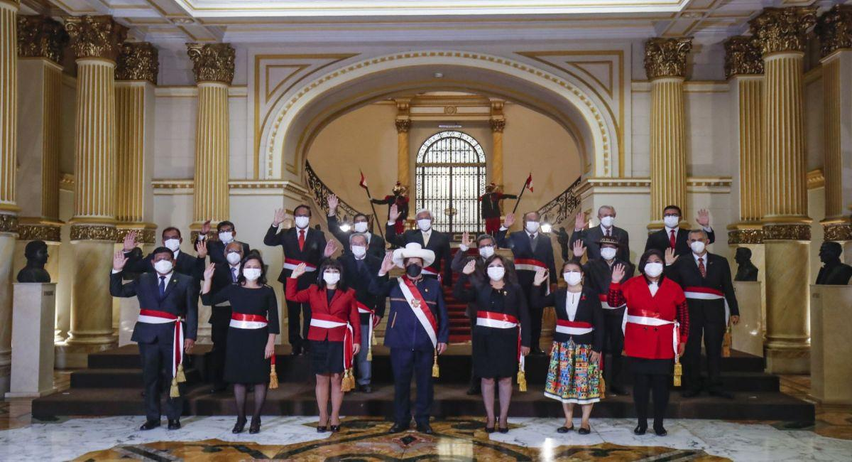 Pedro Castillo: los ministros del gabinete encabezado por Mirtha Vásquez