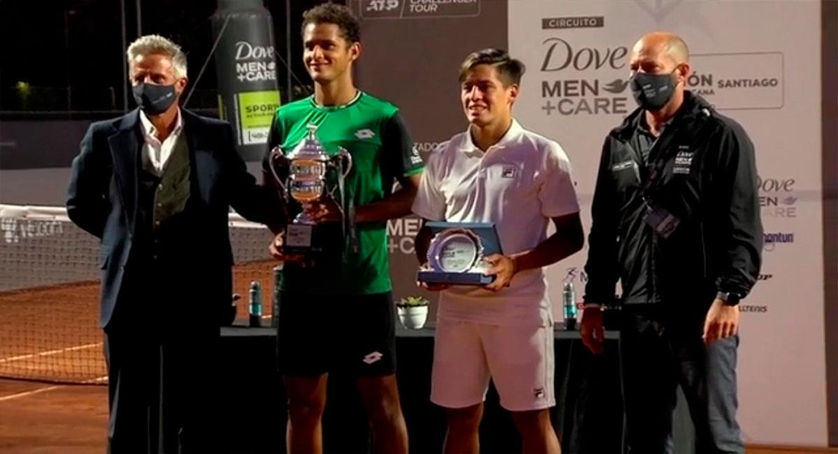 Juan Pablo Varillas campeón en Chile. Foto: Captura ESPN.