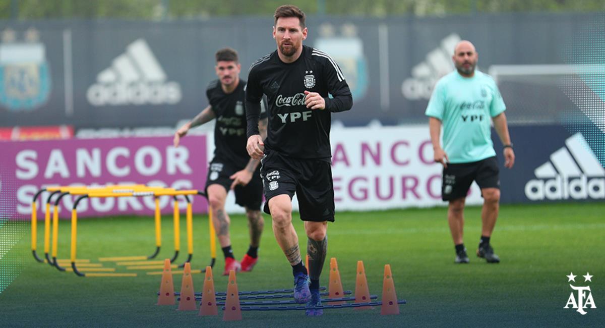Messi jugará ante Perú. Foto: AFA