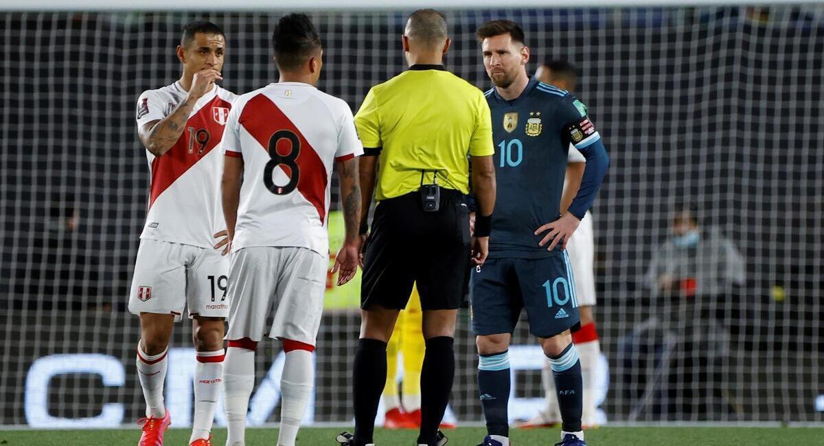 Perú cayó ante Argentina. Foto: EFE