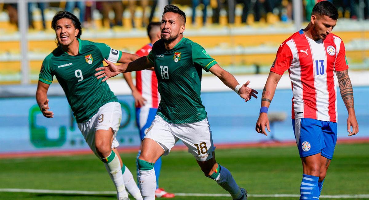 Bolivia venció a Paraguay por Eliminatorias. Foto: EFE