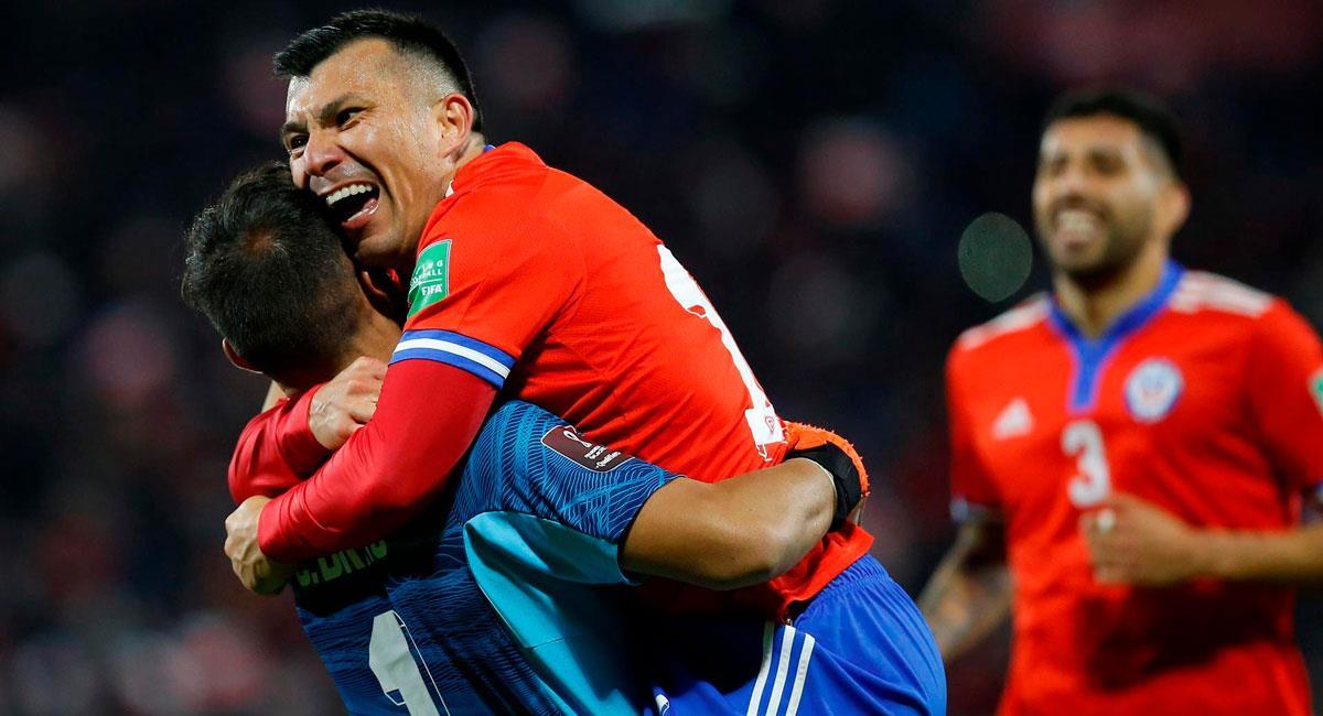 Chile se impuso a Venezuela por Eliminatorias. Foto: EFE