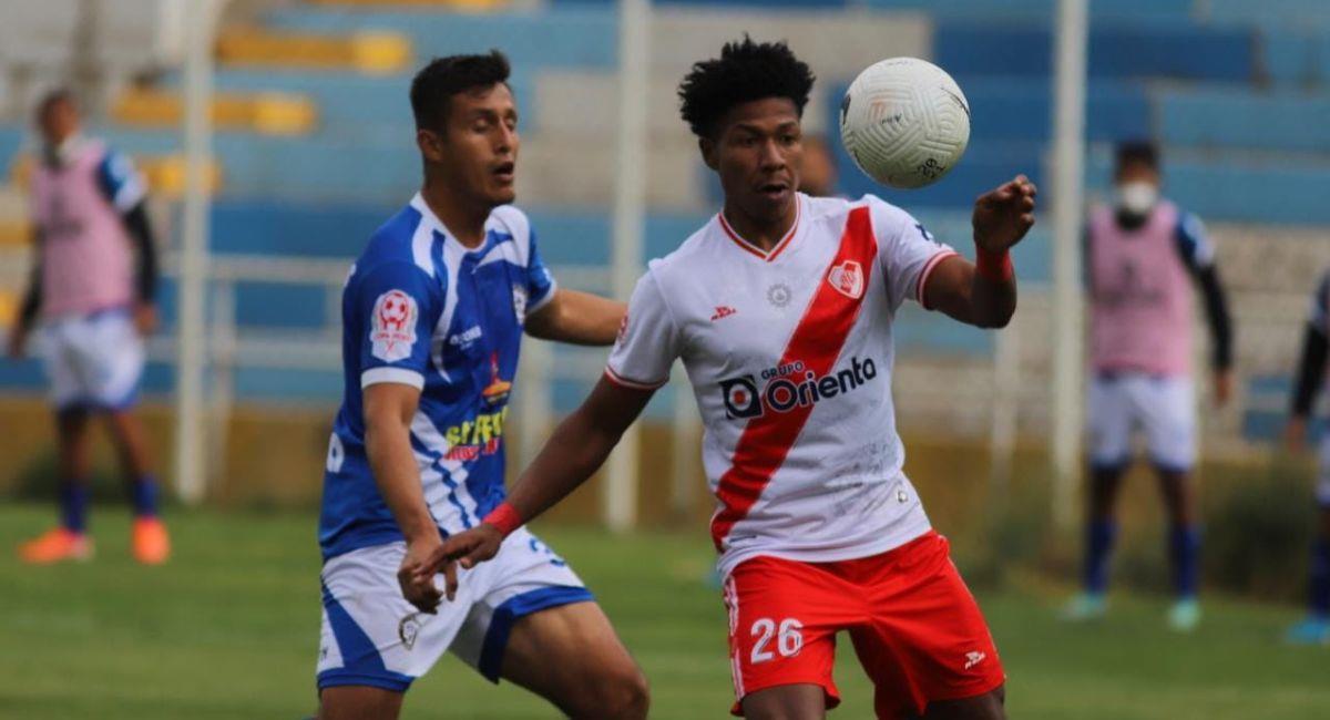 Alfonso Ugarte fue más que Futuro Majes en la Copa Perú. Foto: Twitter Copa Perú