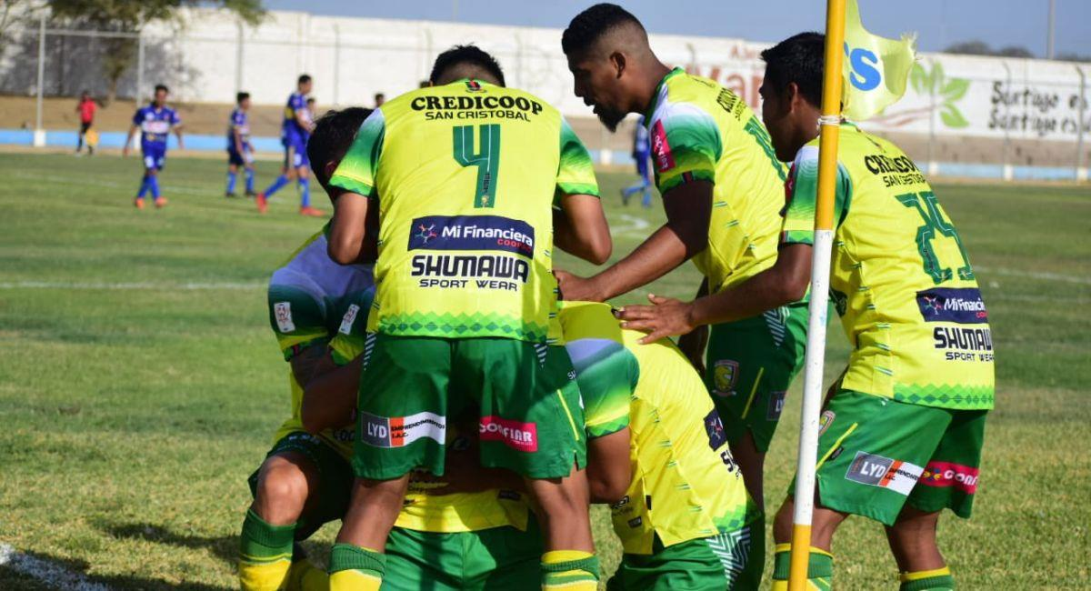 Credicoop San Cristóbal venció al UDA por la Copa Perú. Foto: Twitter Copa Perú