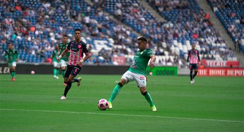 Ormeño jugó en la victoria de León