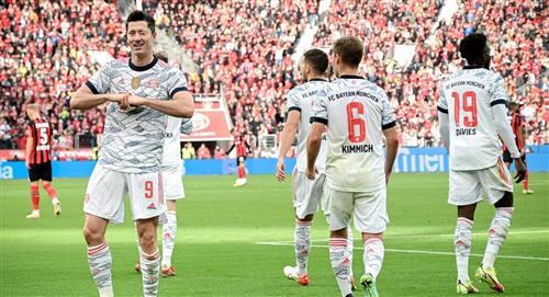 Bayern goleó al Leverkusen