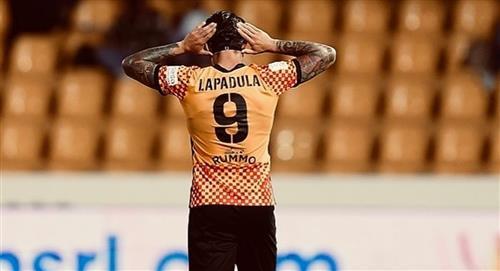 Lapadula jugó en empate del Benevento