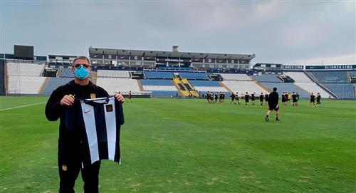Bengoechea felicitó a Alianza Lima