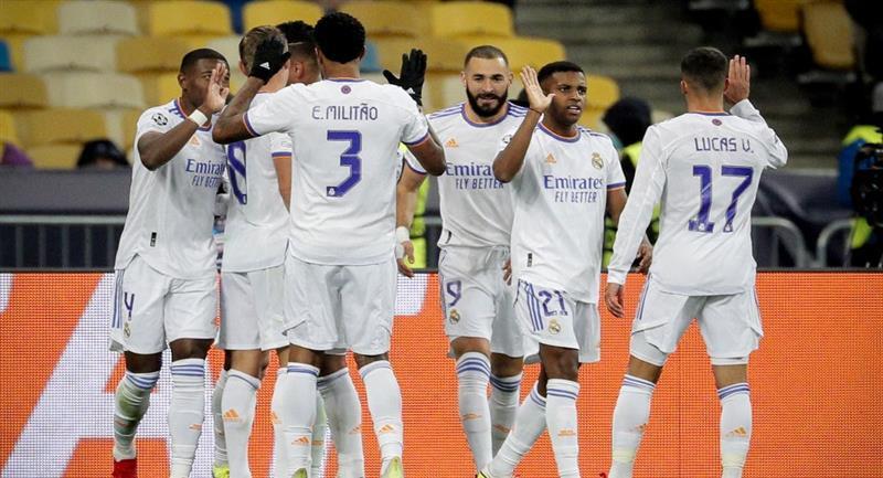 Real Madrid goleó al Shakhtar en la Champions League